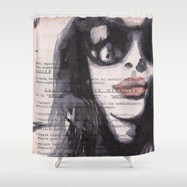 Irene [stolen portrait] Shower Curtain