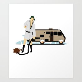 Christmas Movie Gift Griswold National Lampoon Dark Light Art Print