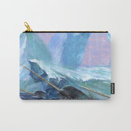 Narwhals at Play Carry-All Pouch