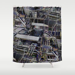 Over-Engineered Shower Curtain