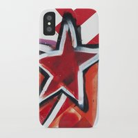 grafitti iPhone & iPod Cases featuring Grafitti Star by Leslie Philipp