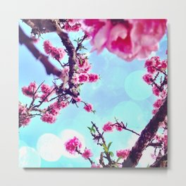 Blossoms in The Sky Metal Print