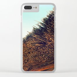 Thatched roof Clear iPhone Case