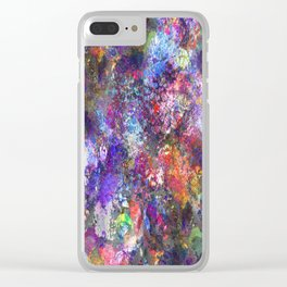 My Paint Shirt Clear iPhone Case