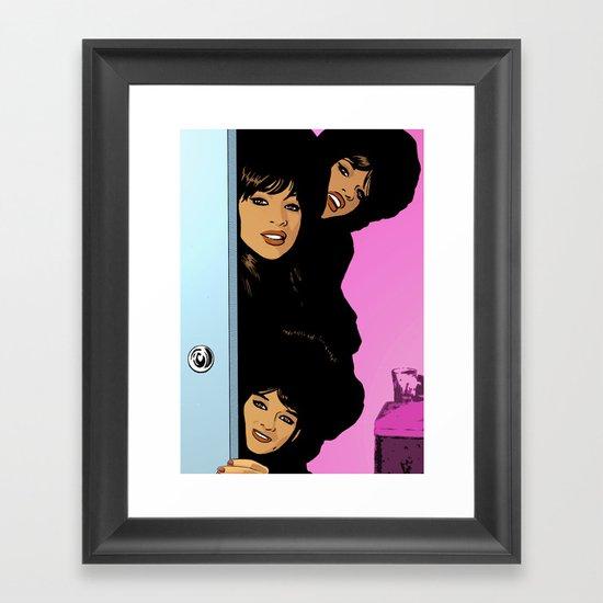 The Ronettes Framed Art Print