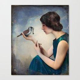 The Key to Wonderland Canvas Print