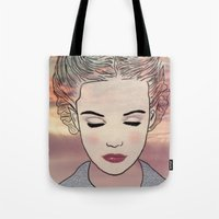 dreamer Tote Bags featuring DREAMER by Laure.B