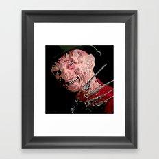 Fred Framed Art Print