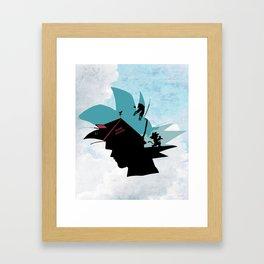 Kame House V2 Framed Art Print