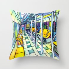 Love NYC's everything No. 5 Throw Pillow