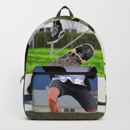Missed Opportunity  - Skateboarder Backpack