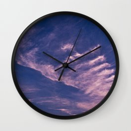 Clouds 14 Wall Clock