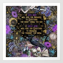 Give the Dark My Love -V2 Art Print