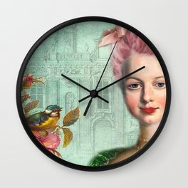 Marie Antoinette, Let Them Eat Cake Wall Clock