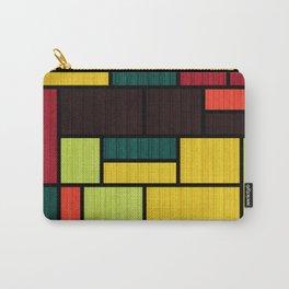 Mondrian Bauhaus Pattern #09 Carry-All Pouch