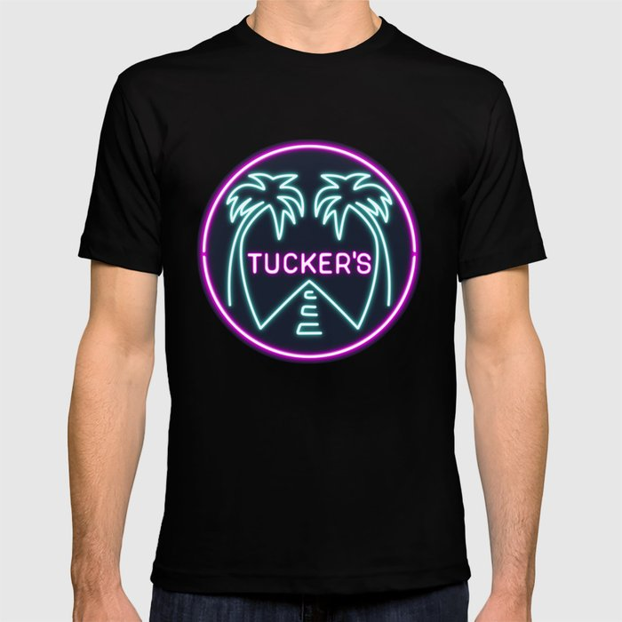 Black Mirror - San Junipero Tucker's T-shirt