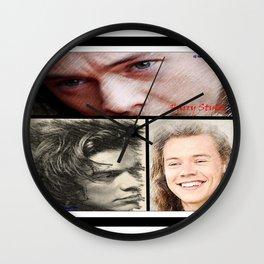 Harry Styles, One Direction, 1D, 1dFanArt Wall Clock
