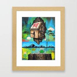 Home Framed Art Print