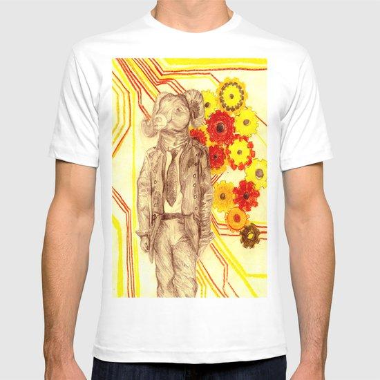 Steampunk Ram T-shirt