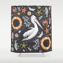SUMMER IN AUSTRALIA Shower Curtain