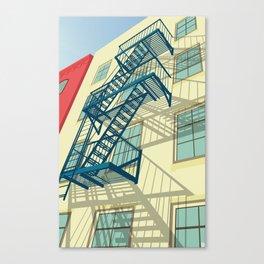 NYC greenwich village Canvas Print
