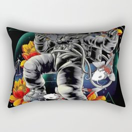 Lucky Spaceman - Rectangular Pillow