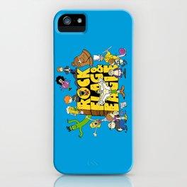 Rock, Flag & Eagle iPhone Case