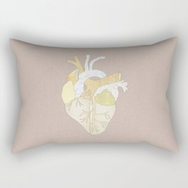 A Heart Unwritten Rectangular Pillow