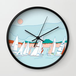 Regata Wall Clock