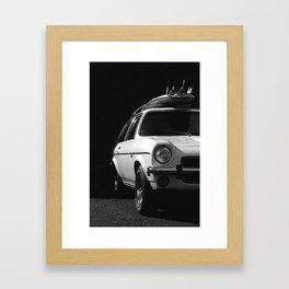 WHITE KNIGHT Framed Art Print