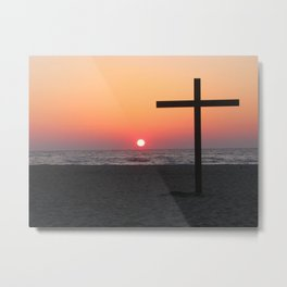Easter at the Beach Metal Print