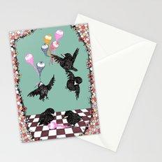 Crow Serie :: Eye Balloons (cria cuervos y te sacaran los ojos) Stationery Cards