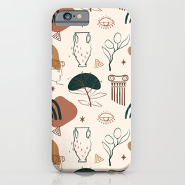 Ancient Greece-Neo Classic iPhone Case