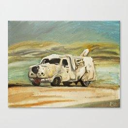 Shaggin' Wagon Canvas Print