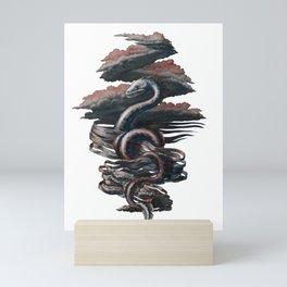 Mystical monster Mini Art Print