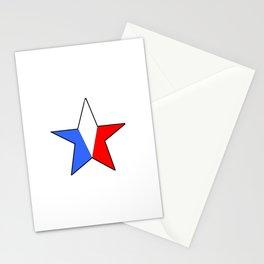 Flag of France 14- France, Français,française, French,romantic,love,gastronomy Stationery Cards