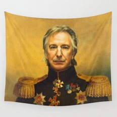 Alan Rickman - replaceface Wall Tapestry