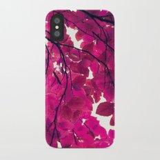 Magenta iPhone X Slim Case