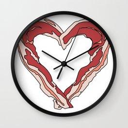 Baconlove Wall Clock