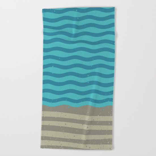 FOR SHORE Beach Towel