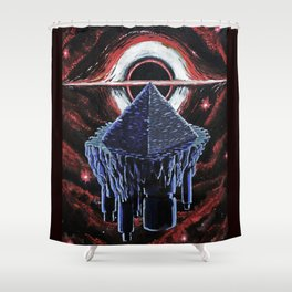 Ancient Astronauts Shower Curtain