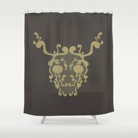 moose Shower Curtains featuring Moose by avoid peril