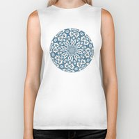 snowflake Biker Tanks featuring Snowflake by Stay Inspired