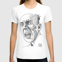 techno T-shirts featuring Techno Terror by Rustyoldtown