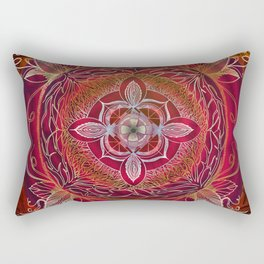 Root Chakra Rectangular Pillow