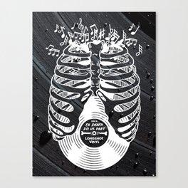 Til Death do us part. (v2) Canvas Print