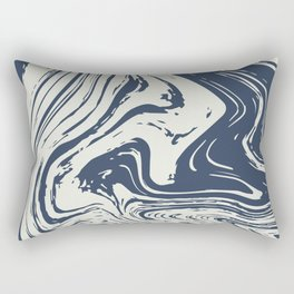 Abstract River Rectangular Pillow