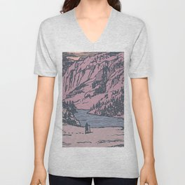 Adventure Is Calling Unisex V-Neck