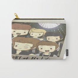 One Direction Story of My Life Cartoon Carry-All Pouch