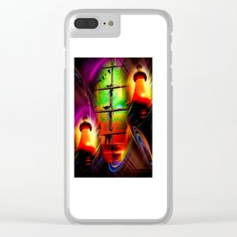 Lighthouse romance 2 Clear iPhone Case